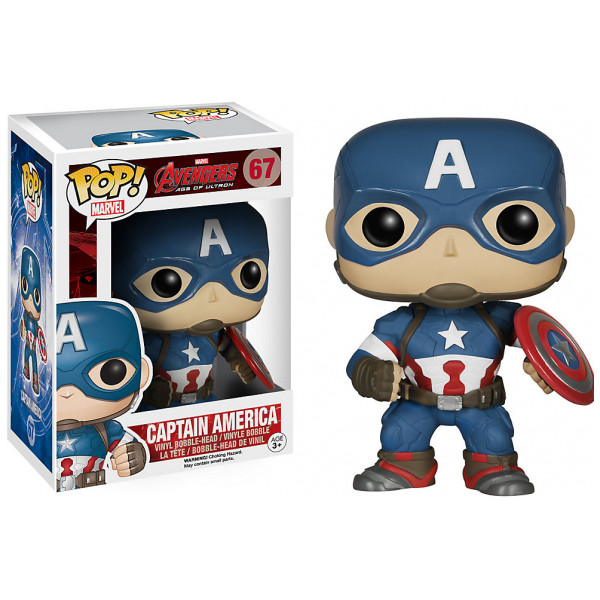 Disney Store Samlarfigur Captain America-Pop Vinyl-Figur Funko från Disney store