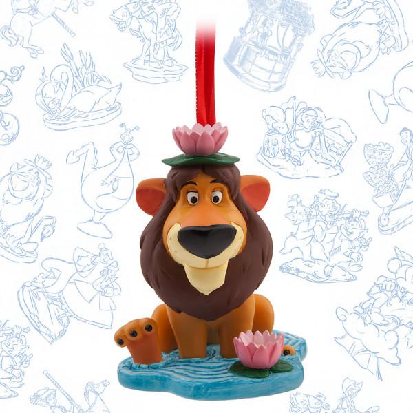 Disney Store Samlarfigur Det Fåraktiga Lejonet Ornament från Disney store
