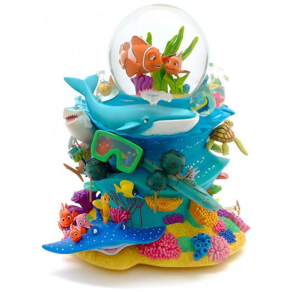 Disney Store Samlarfigur Hitta Nemo Snöglob Deluxe från Disney store
