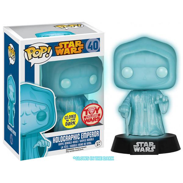 Disney Store Samlarfigur Holografisk Emperor Pop Vinylfigur Från Funko från Disney store