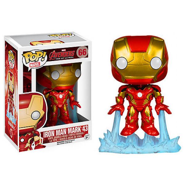 Disney Store Samlarfigur Iron Man-Pop Vinyl-Figur Funko från Disney store