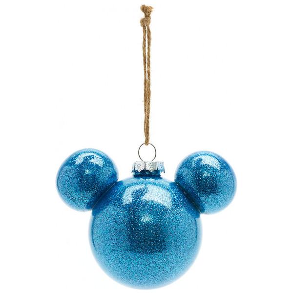 Disney Store Samlarfigur Musse Pigg Blå Julgranskula Disneyland Paris från Disney store