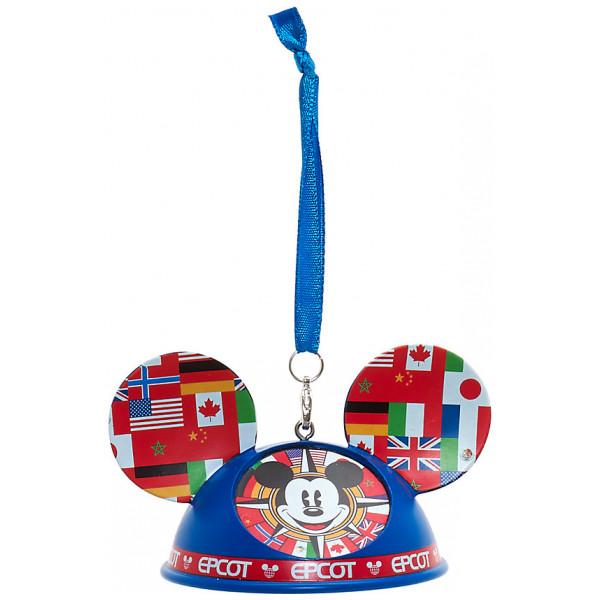 Disney Store Samlarfigur Musse Pigg Epcot Dekoration Walt Disney World från Disney store