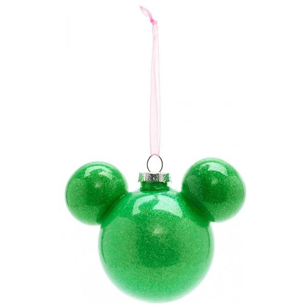 Disney Store Samlarfigur Musse Pigg Grön Julgranskula Disneyland Paris från Disney store