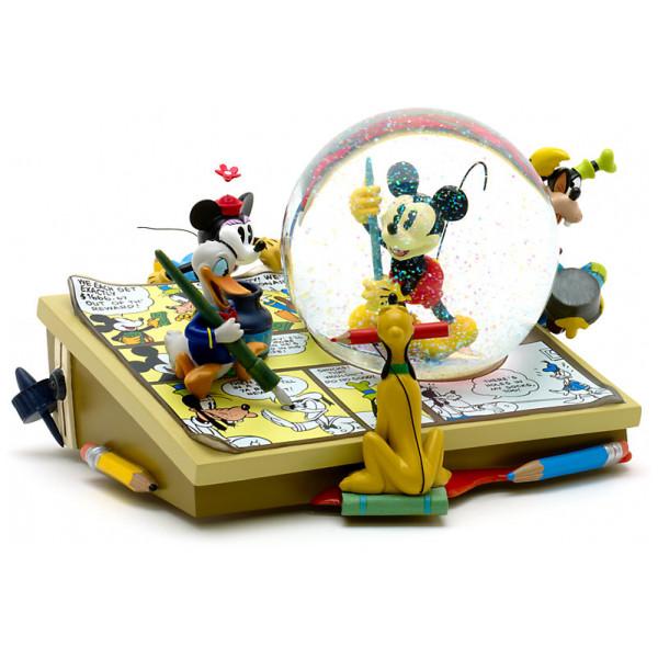 Disney Store Samlarfigur Musse Pigg Och Hans Vänner Musikalisk Snöglob från Disney store
