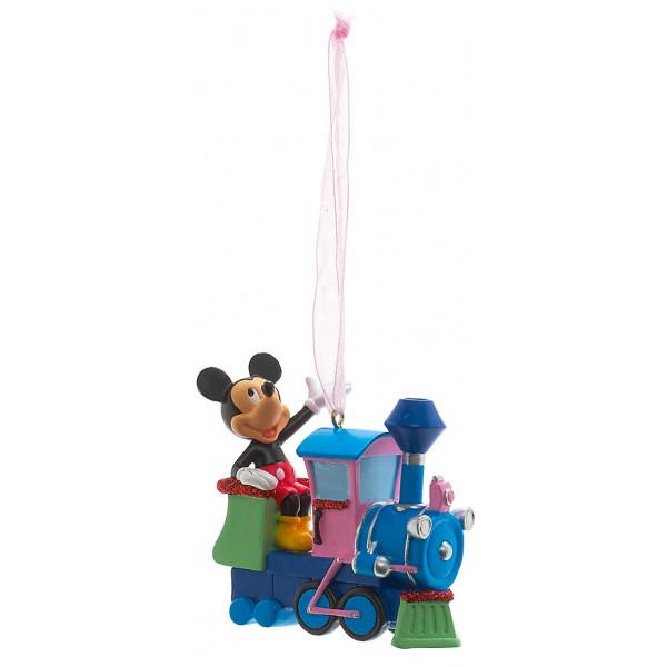 Disney Store Samlarfigur Musse Pigg Tågdekoration Disneyland Paris från Disney store