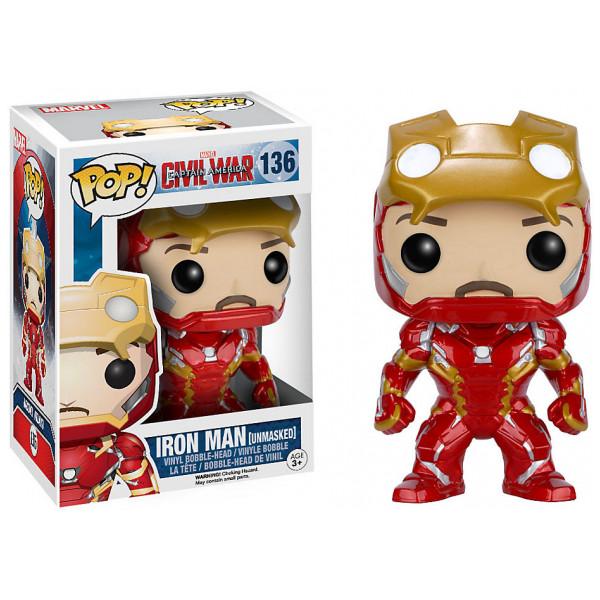 Disney Store Samlarfigur Omaskerad Iron Man Pop Vinylfigur Från Funko från Disney store