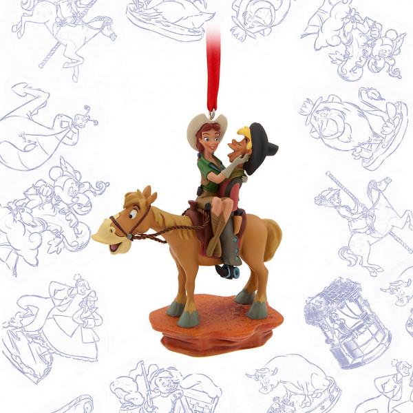 Disney Store Samlarfigur Pecos Bill Ornament från Disney store