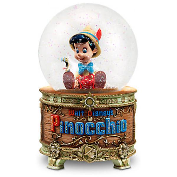 Disney Store Samlarfigur Pinocchio Snöglob Limited Edition från Disney store