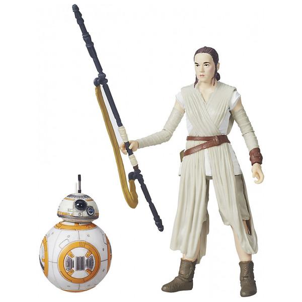 Disney Store Samlarfigur Rey Och Bb-8 Black Series Figurer Star Wars The Force Awakens från Disney store