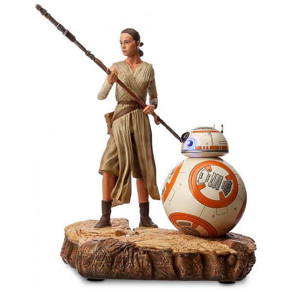 Disney Store Samlarfigur Rey Och Bb-8 Statyett I Begränsad Upplaga Star Wars The Force Awakens från Disney store