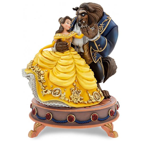 Disney Store Samlarfigur Skönheten Och Odjuret Musikornament I Begränsad Upplaga från Disney store
