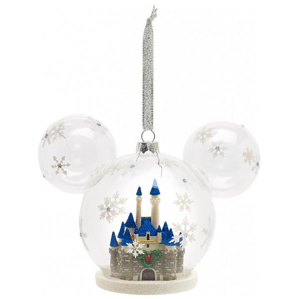 Disney Store Samlarfigur Slott Juldekoration Walt Disney World från Disney store