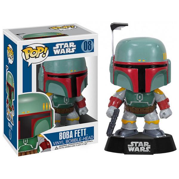 Disney Store Samlarfigur Star Wars Boba Fett Pop Vinyl-Figur Funko från Disney store