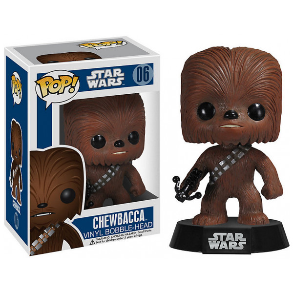 Disney Store Samlarfigur Star Wars Chewbacca Pop Vinyl-Figur Funko från Disney store