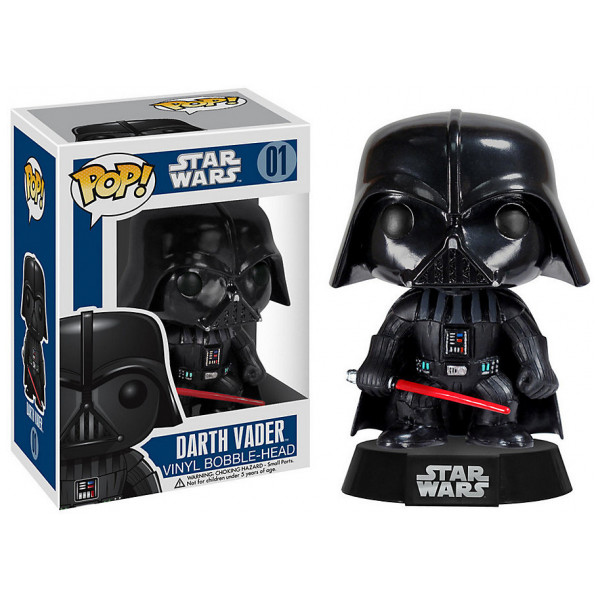 Disney Store Samlarfigur Star Wars Darth Vader Pop Vinyl-Figur Funko från Disney store