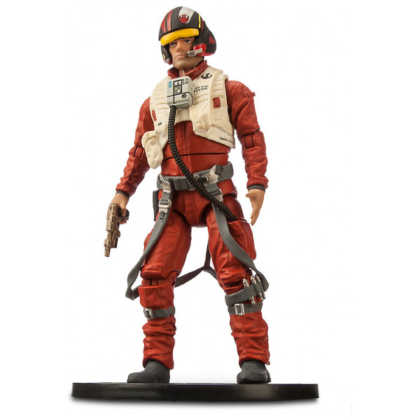 Disney Store Samlarfigur Star Wars Elite-Serien 18 Cm Diecast-Figurer Poe Dameron från Disney store