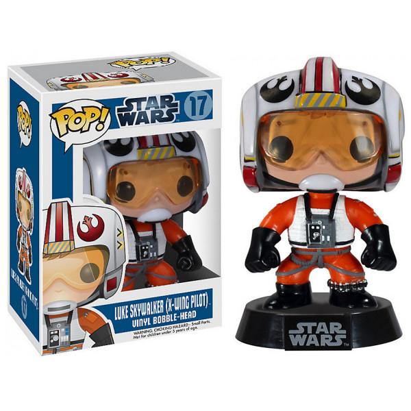 Disney Store Samlarfigur Star Wars Luke Skywalker Pop Vinyl-Figur Funko från Disney store