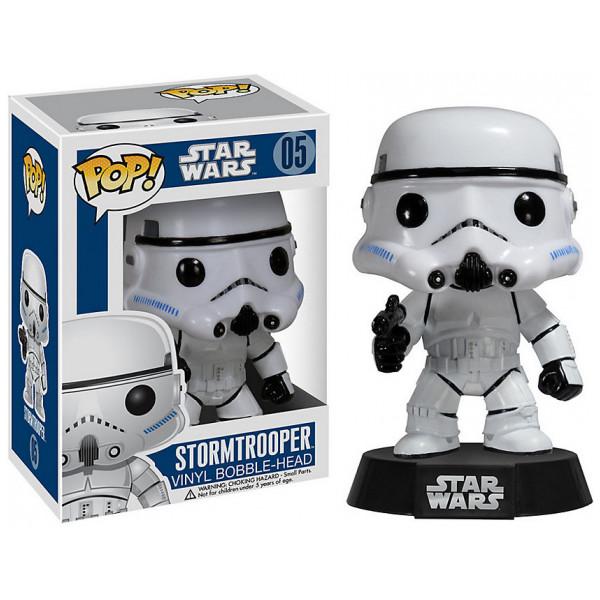 Disney Store Samlarfigur Star Wars Stormtrooper Pop Vinyl-Figur Funko från Disney store