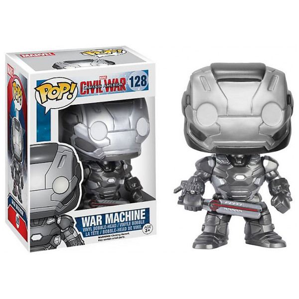 Disney Store Samlarfigur War Machine Pop Vinylfigur Från Funko Captain America Civil War från Disney store