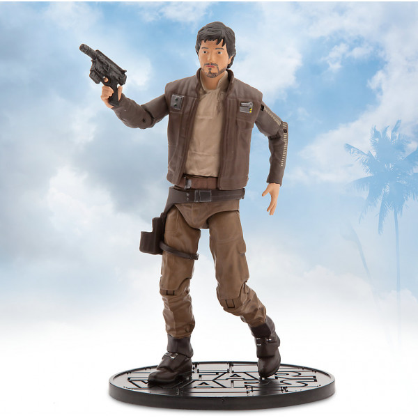 Disney Store Slask Captain Cassian Andor Elite Series Die-Cast-Figur Rogue One A Star Wars Story från Disney store