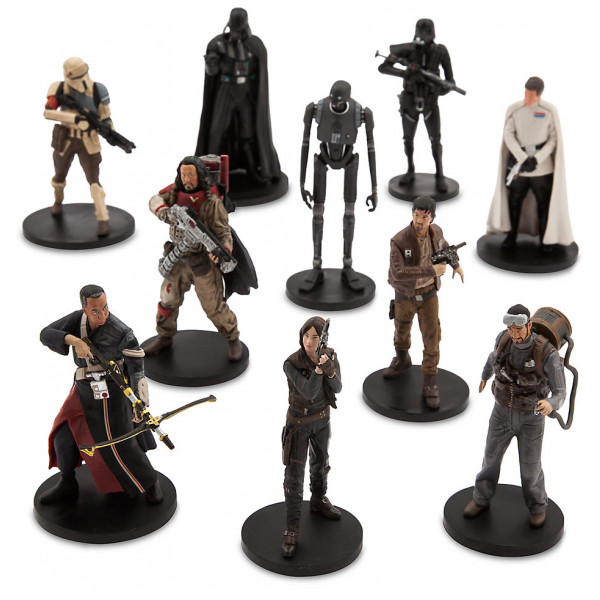 Disney Store Slask Rogue One A Star Wars Story Deluxe-Set Med Figurer från Disney store