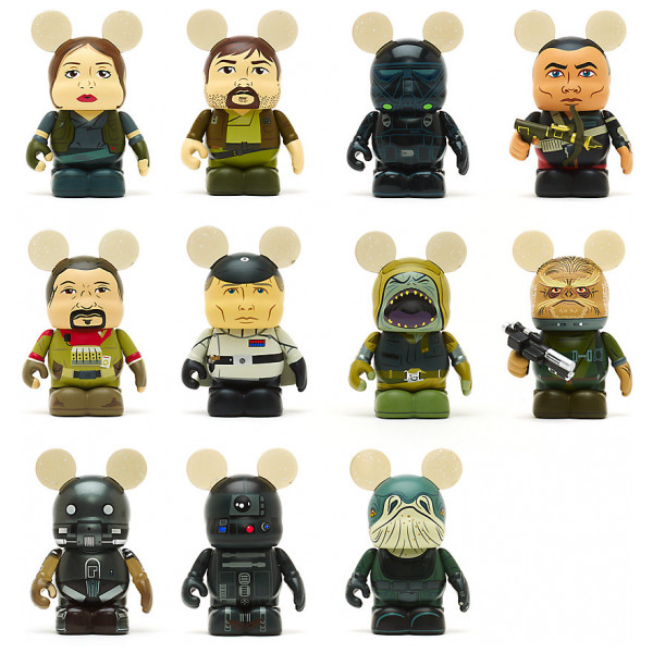 Disney Store Slask Rogue One A Star Wars Story Vinylmation-Figur 7,5 Cm från Disney store