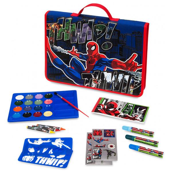Disney Store Spider-Man Pennfodral Med Pennor från Disney store