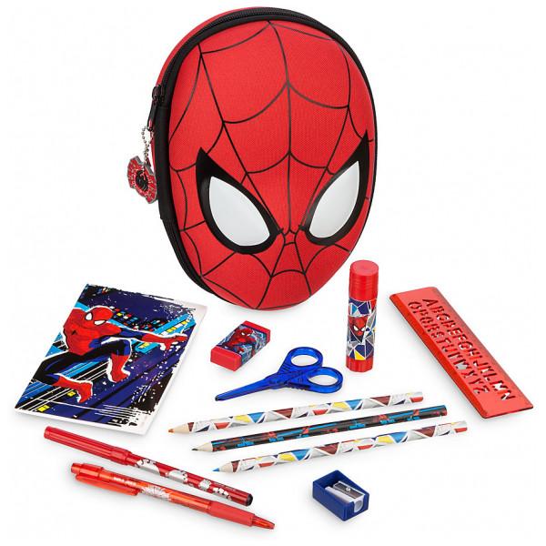 Disney Store Spiderman Pennfodral Med Pennor från Disney store