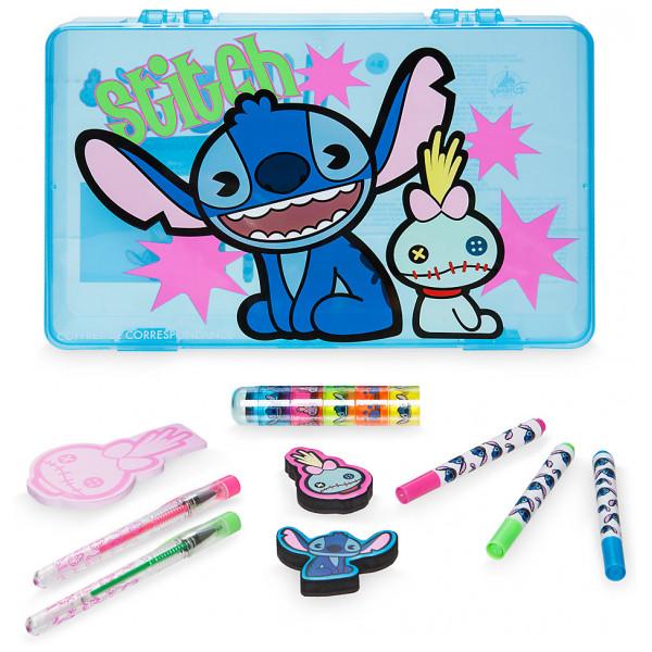 Disney Store Stitch Mxyz Set Med Skrivmaterial från Disney store