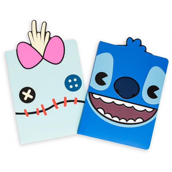 Disney Store Stitch Och Skrutt Mxyz Dagböcker 2-Pack från Disney store