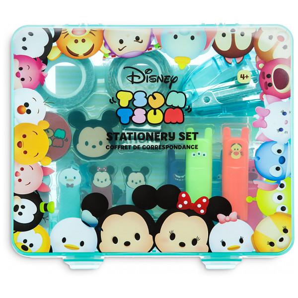 Disney Store Tsum Set Med Skrivmaterial från Disney store