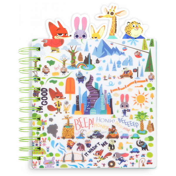 Disney Store Zootropolis Dagbok från Disney store
