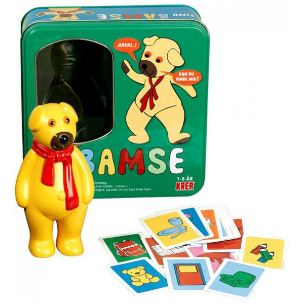 Dr Sällskapsspel Find Bamse - Hide And Seek 6490 från Dr