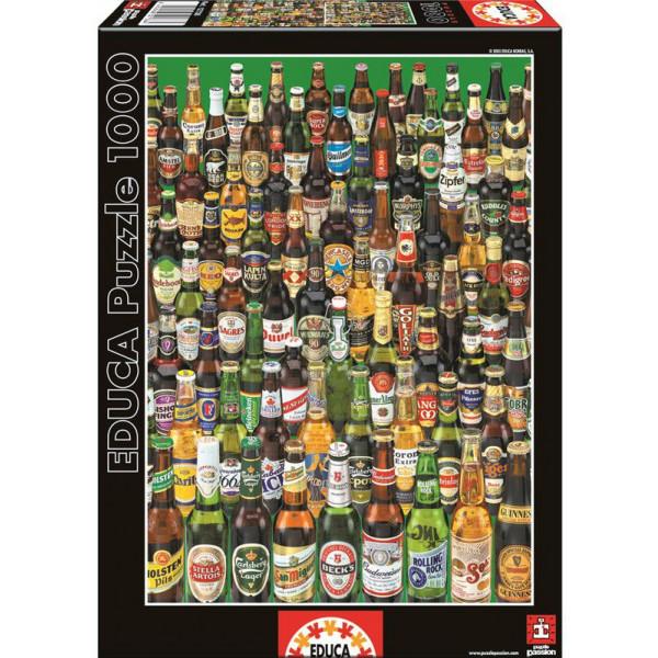 Educa Pussel Puzzle 1000 - Beers 012736 från Educa