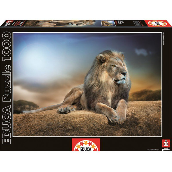 Educa Pussel Puzzle 1000 - His Majesty 016292 från Educa