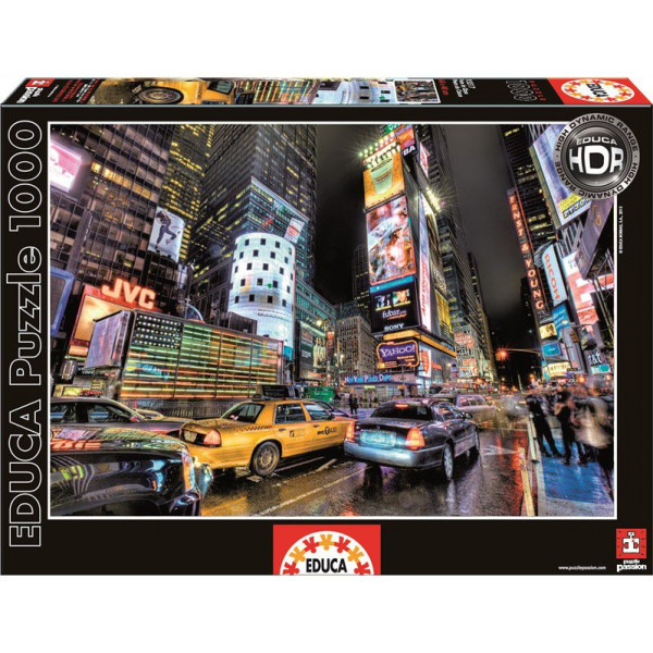Educa Pussel Puzzle 1000 - Times Square New York 015525 från Educa