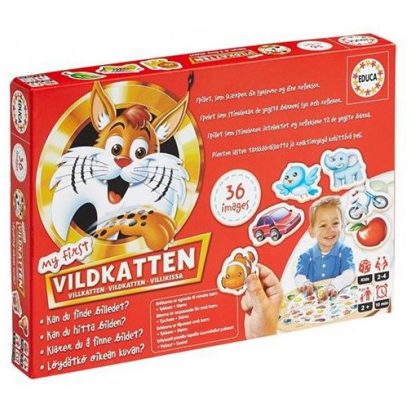 Educa Sällskapsspel My First Vildkatten 0015032 från Educa