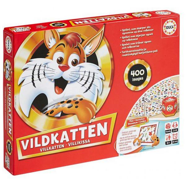 Educa Sällskapsspel Vildkatten 400 App Version 016439 från Educa