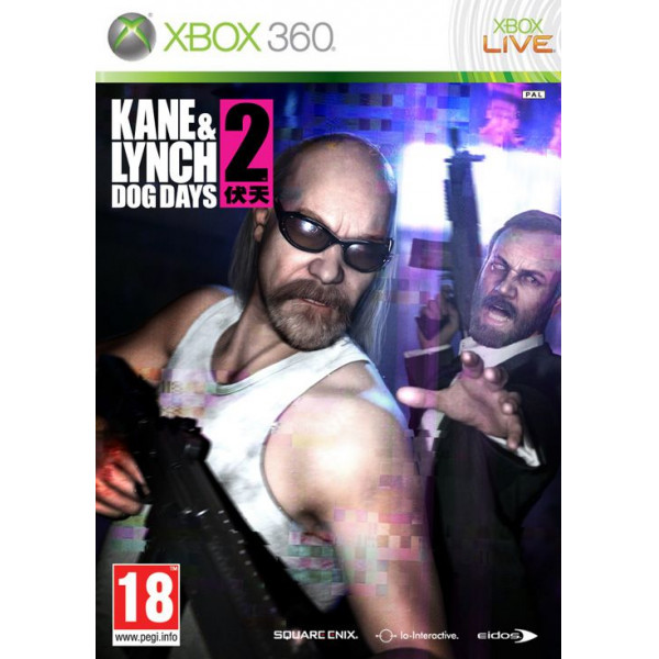 Eidos Tv-Spel Kane & Lynch 2 Dog Days från Eidos
