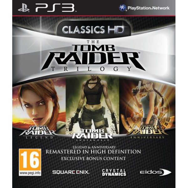 Eidos Tv-Spel Tomb Raider Trilogy Hd från Eidos