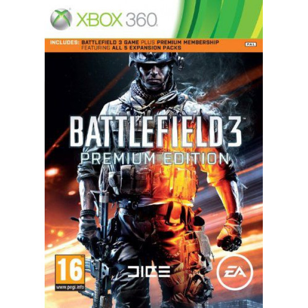 Electronic Arts Tv-Spel Battlefield 3 Premium Edition från Electronic arts