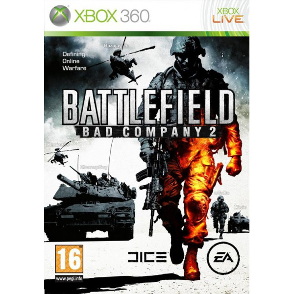 Electronic Arts Tv-Spel Battlefield Bad Company 2 Two från Electronic arts