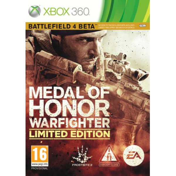 Electronic Arts Tv-Spel Medal Of Honor Warfighter Limited Edition Nordic från Electronic arts