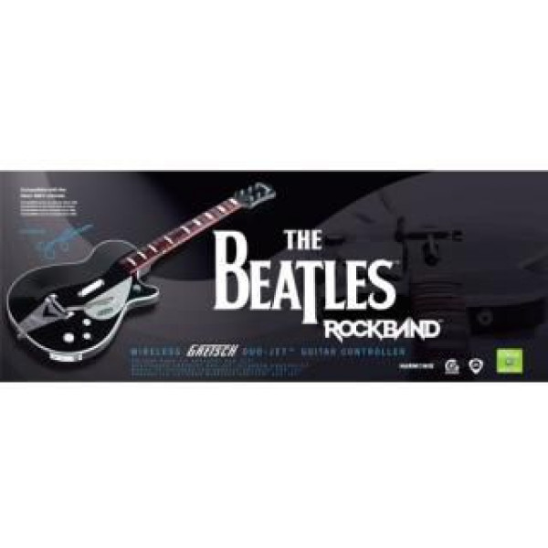 Electronic Arts Tv-Spel Rock Band The Beatles Wireless Gretsch Duo Jet Guitar från Electronic arts