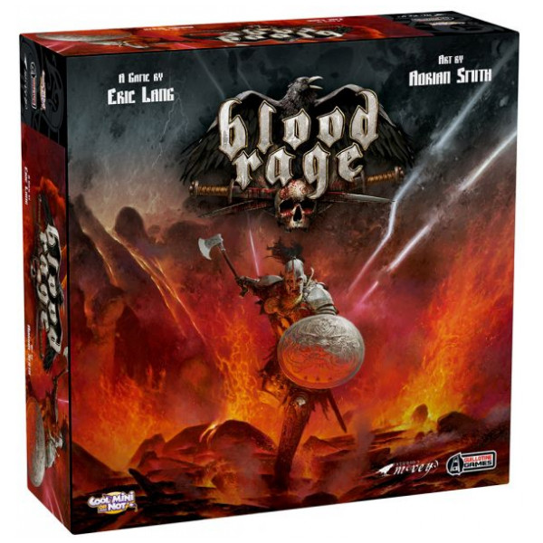 Enigma Sällskapsspel Blood Rage Boardgame från Enigma