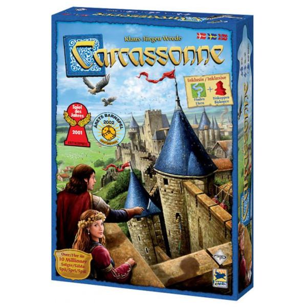 Enigma Sällskapsspel Carcassonne från Enigma