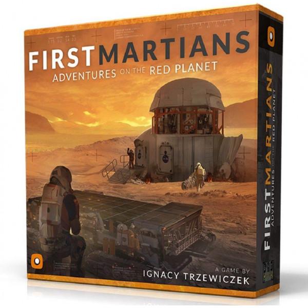 Enigma Sällskapsspel First Martians Adventures On The Red Planet från Enigma