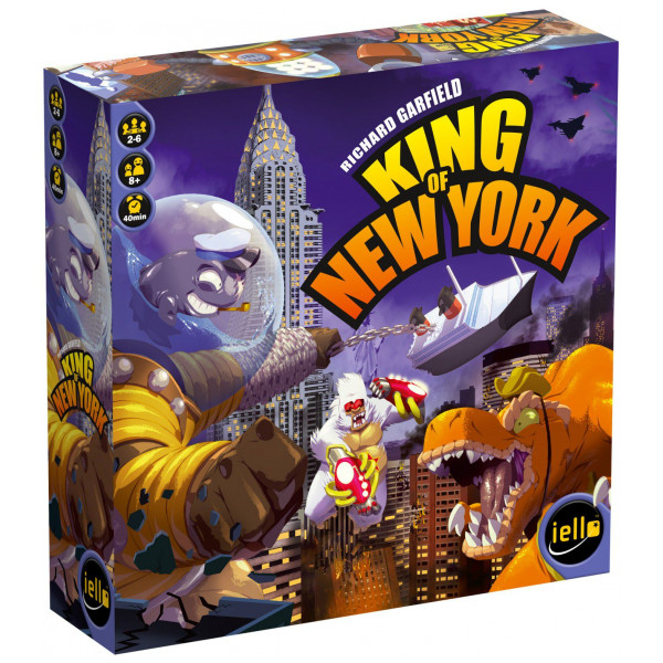 Enigma Sällskapsspel King Of New York Boardgame English från Enigma