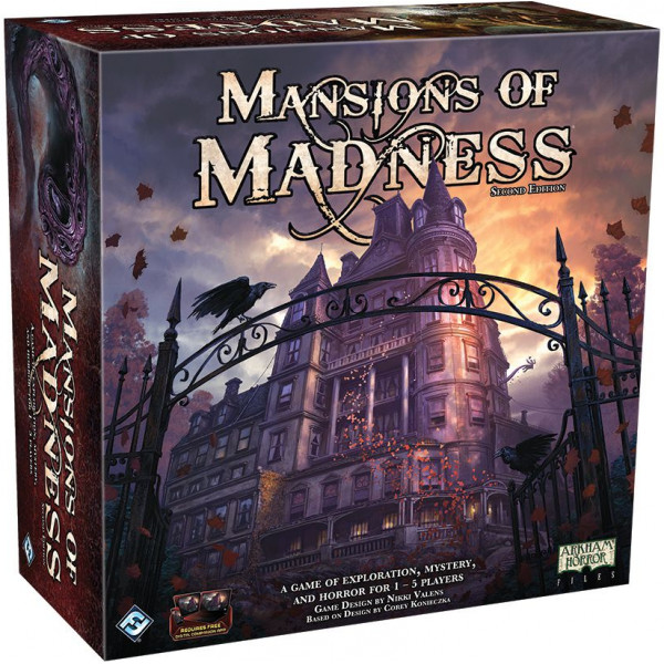Fantasy Flight Games Sällskapsspel Mansions Of Madness 2Nd Edition från Fantasy flight games